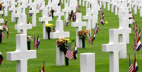 Memorial Day op Margraten in Limburg - Amerikaanse feestdagen