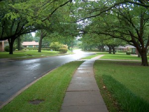 De Amerikaanse suburbs