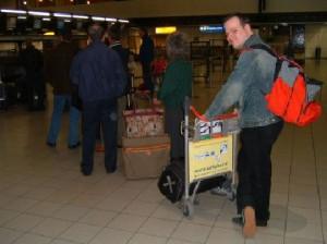 Matthijs op reis naar Amerika