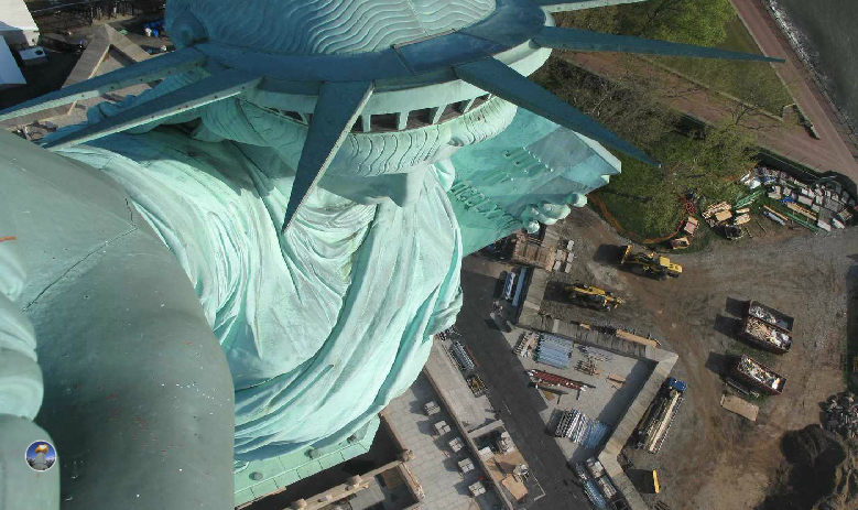 Crowncam Statue of Liberty