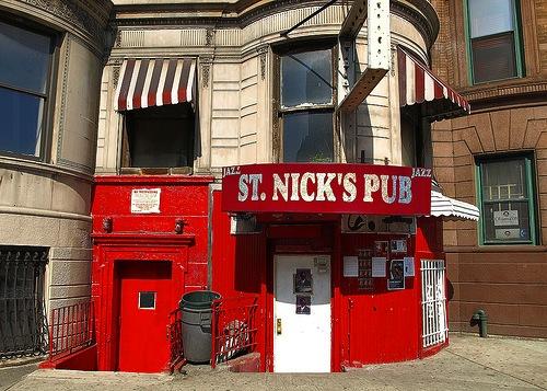 St. Nick's Pub in Harlem
