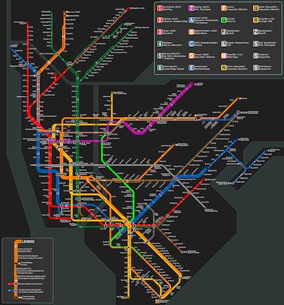 kaart-metro-new-york-klein
