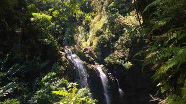 waterval op Maui