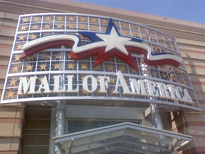 The Mall of America in Minnesota