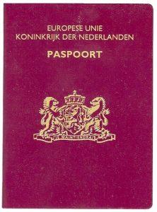 Je hebt een geldig paspoort nodig