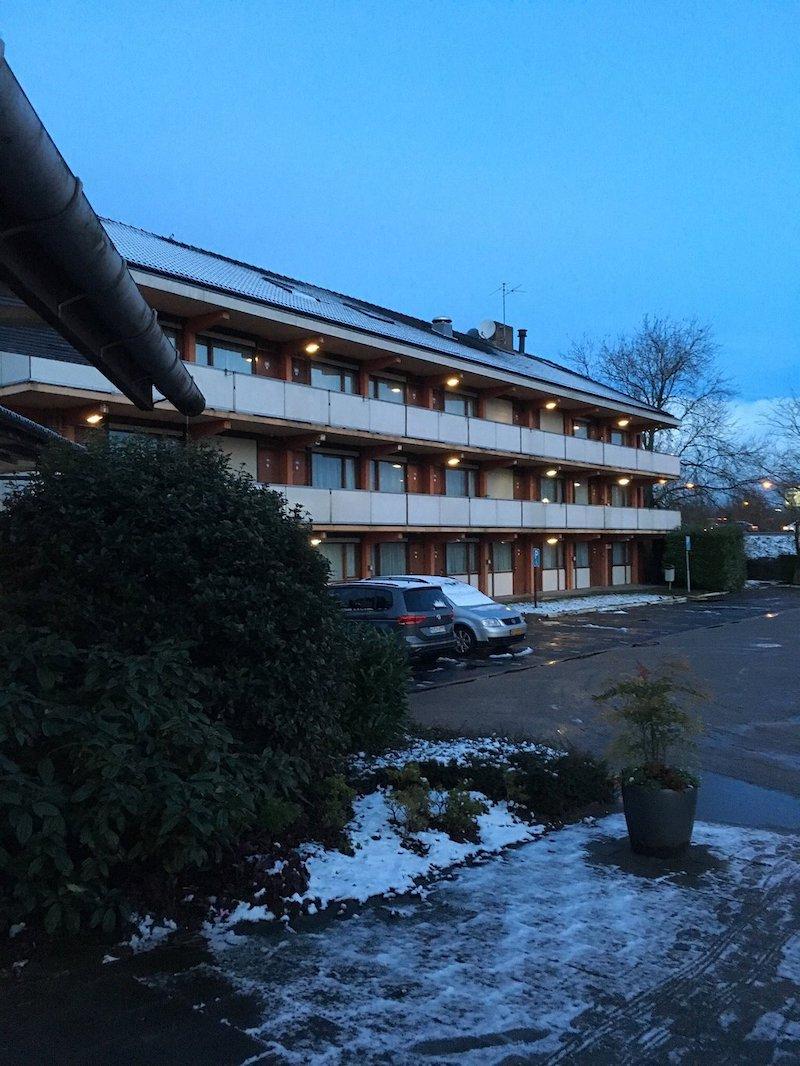 Amerikaans motel in Nederland