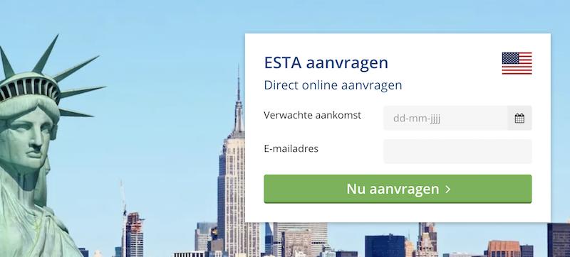 ESTA aanvragen via VisumBuitenland.nl