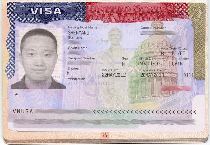Een visum voor Amerika is een officieel document
