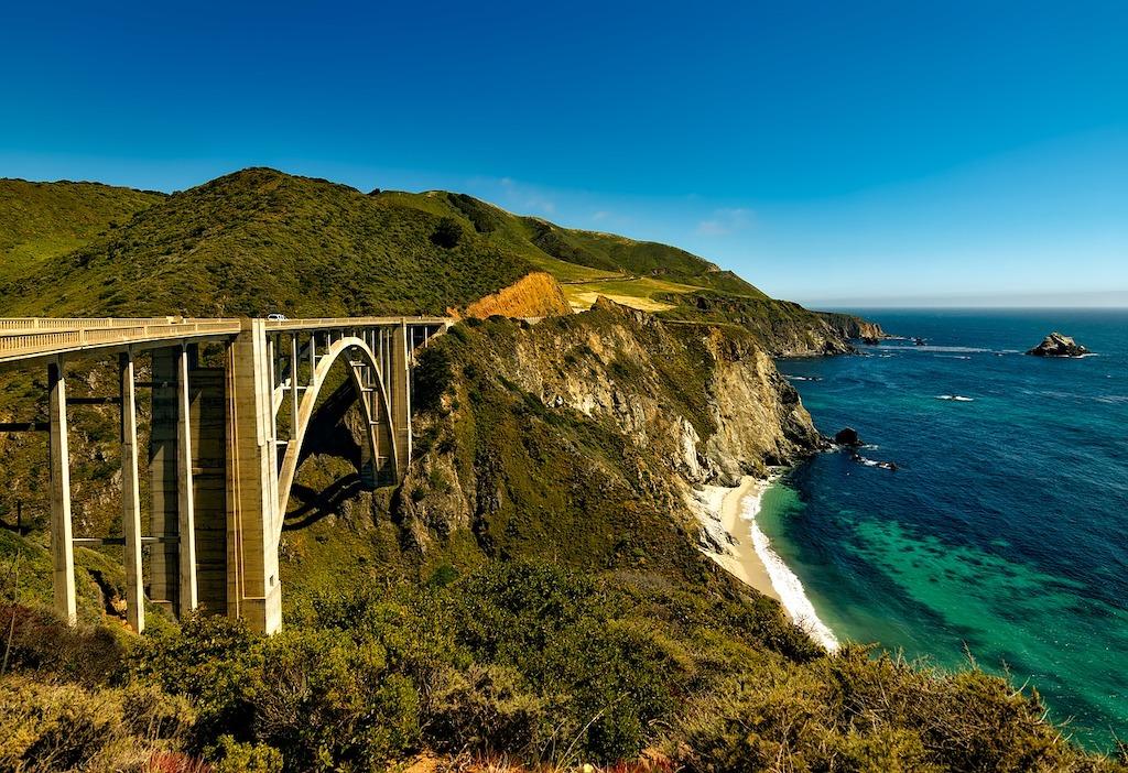 Pacific Coast Highway in Californie